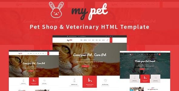 MyPet - Pet Shop & Veterinary HTML Template