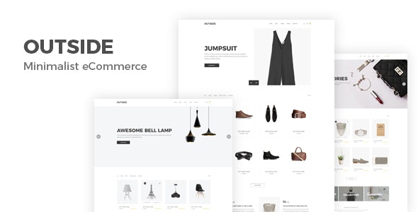 Outside - Minimal eCommerce HTML Template by Theme-4Web