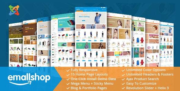 EmallShop - Responsive Multipurpose Virtuemart Theme - VirtueMart Joomla