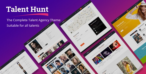 Talent Hunt -  Model Management WordPress CMS Theme - Health & Beauty Retail