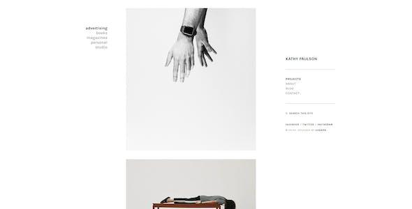 Kathy - Minimal Photography and Portfolio WordPress Theme