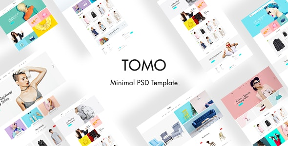 TOMO - Minimal eCommerce Template - Fashion Retail