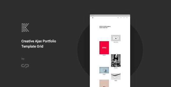 Kaleo - Creative Ajax Portfolio Template Grid - Portfolio Creative
