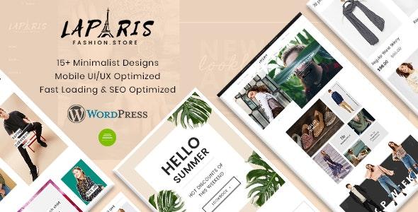 LaParis - Creative Responsive WordPress Theme - eCommerce WordPress