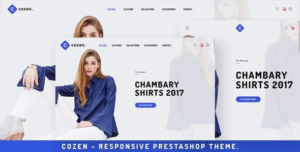 Cozen - Prestashop Fashion Theme - Fashion PrestaShop