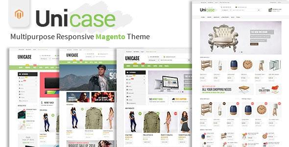 Unicase - Multipurpose Responsive Magento Theme - Magento eCommerce