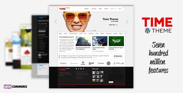 Time - Responsive WordPress Theme - Business Corporate