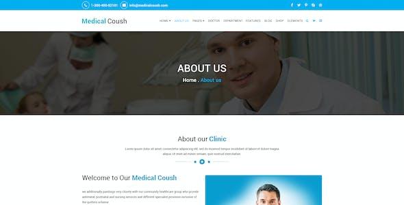 Medical Coush - Medical PSD Template