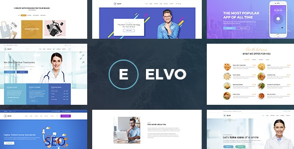 ELVO – Business Multipurpose PSD Template - Business Corporate
