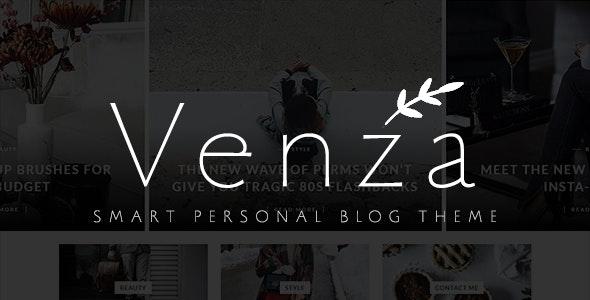 Venza - Smart Personal WordPress Blog Theme - Personal Blog / Magazine