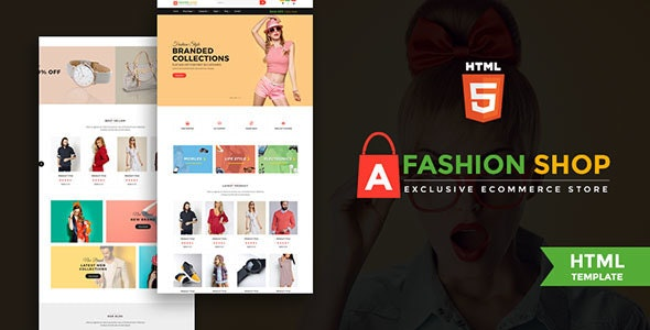 Fashion Shop - Multipurpose Ecommerce Responsive Html Template - Fashion Retail