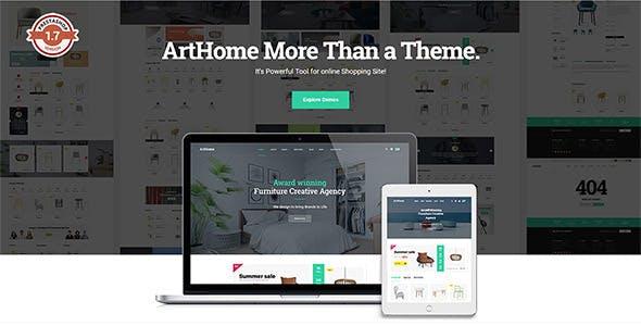 Pts Arthome Best Prestashop Theme 17 For Furniture Manufacture