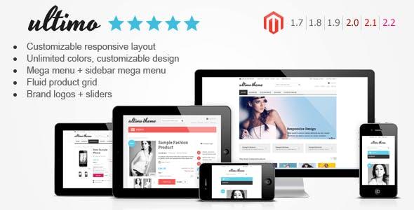 Ultimo - Fluid Responsive Magento Theme - Shopping Magento
