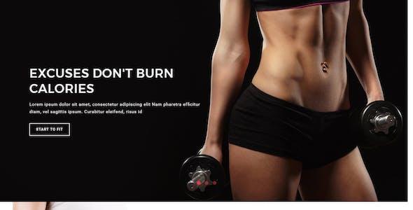 Fitness - Multipurpose Responsive HTML Template