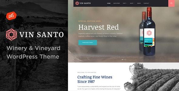 Vin Santo - Winery & Vineyard Theme - Restaurants & Cafes Entertainment