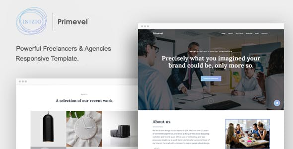 INIZIO - Responsive Template for Freelancers and Agencies