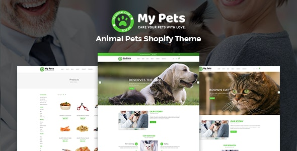 My Pets - Pet Sitter, Pet Shop, Animal Care Shopify Theme - Shopping Shopify