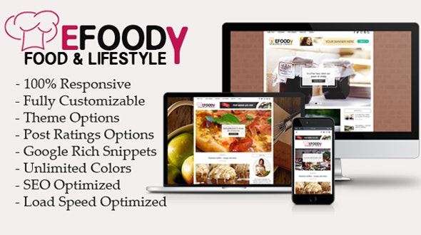 Efoody - Food and Lifestyle WordPress Theme - Food Retail