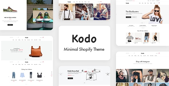 Kodo - Minimal Layout Builder Shopify Theme - Fashion Shopify
