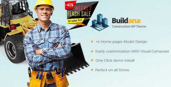 Buildana | Construction & Building WordPress Theme