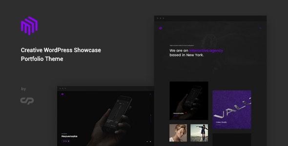 Cubez - Creative WordPress Showcase Portfolio Theme - Creative WordPress