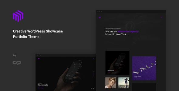 Cubez - Creative WordPress Showcase Portfolio Theme