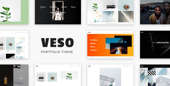 Veso - Multipurpose Portfolio Theme - Creative WordPress