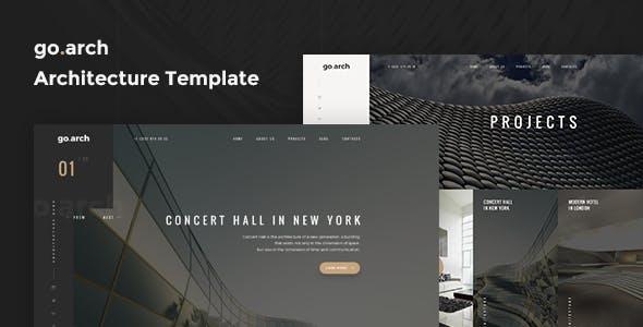 go.arch - Architecture & Interior Joomla! Template