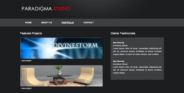 Paradigma Studio - 3D Slider