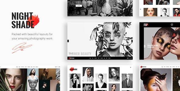 Nightshade - Photography Portfolio Theme - Photography Creative