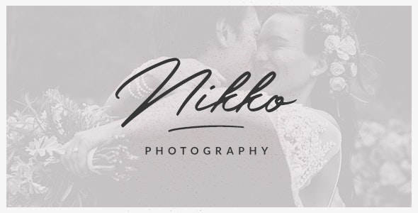 Nikko - WordPress Photography Theme - Photography Creative