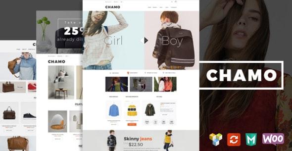 Chamo - Responsive WooCommerce WordPress Theme - WooCommerce eCommerce