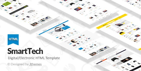 Tech Ecommerce HTML Template