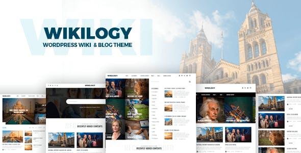 Wikilogy - Wiki & Blog WordPress Theme