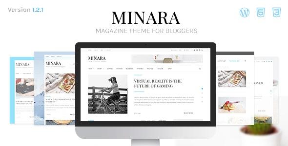 Minara - WordPress Magazine Theme for Bloggers - News / Editorial Blog / Magazine