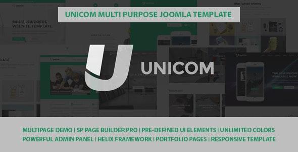 Unicom Responsive Multi Purpose Joomla Template - Corporate Joomla