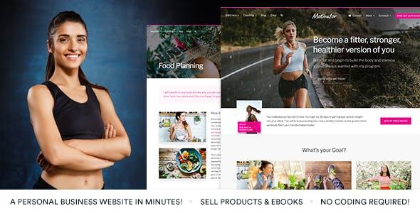 MotivatorGuru - Coaching and Business WordPress Theme
