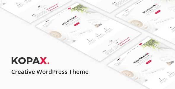 Kopax - Creative Responsive WP Theme - Creative WordPress