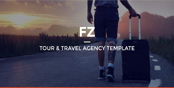 FZ - Tour & Travel Agency Template