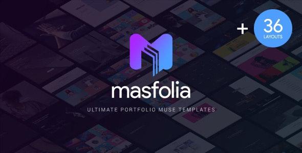 Masfolia - Ultimate Portfolio Muse Templates - Creative Muse Templates
