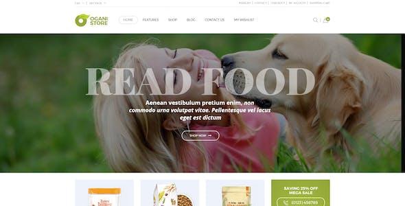 Ogani - Organic Food Store Theme for WooCommerce WordPress