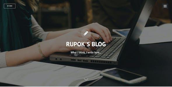 Privado - Minimal Blogging Theme for Ghost
