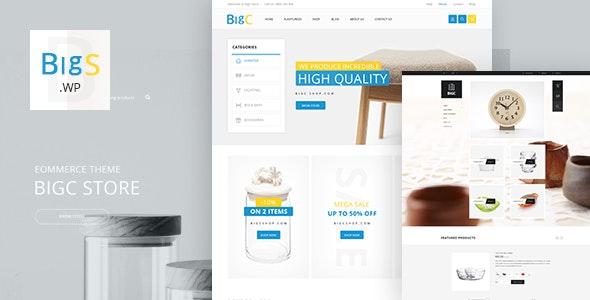 Big Shop - Furniture RTL Responsive WooCommerce WordPress Theme - WooCommerce eCommerce