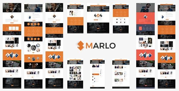 Marlo - Portfolio and Business Template - Creative Photoshop