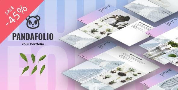 Pandafolio - Modern and Clean Portfolio WordPress Theme + RTL - Portfolio Creative
