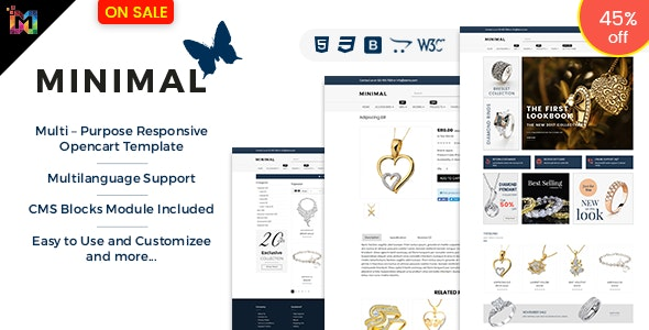 Shopping - Responsive Opencart 3 Theme for Online Store - OpenCart eCommerce