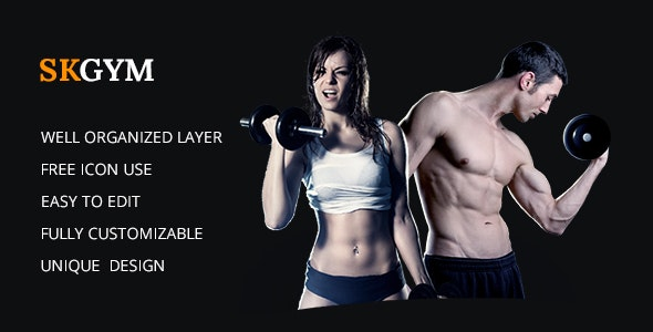 SKGYM - Fitness Events, Personal Trainer - Business Corporate