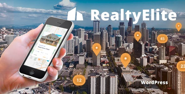 RealtyElite - Real Estate & Property Sales WordPress Theme