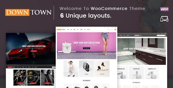 Down Town - Multipurpose WooCommerce Theme - WooCommerce eCommerce