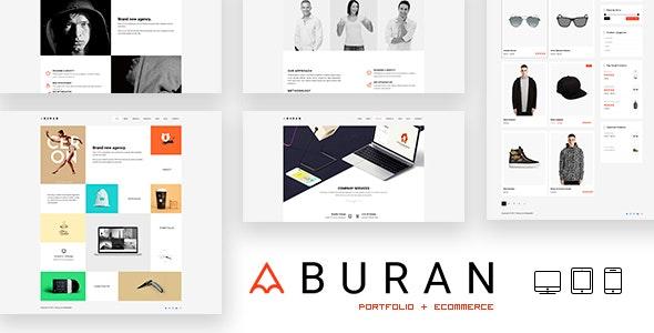 BURAN - Creative Portfolio and Business WordPress Theme - Portfolio Creative